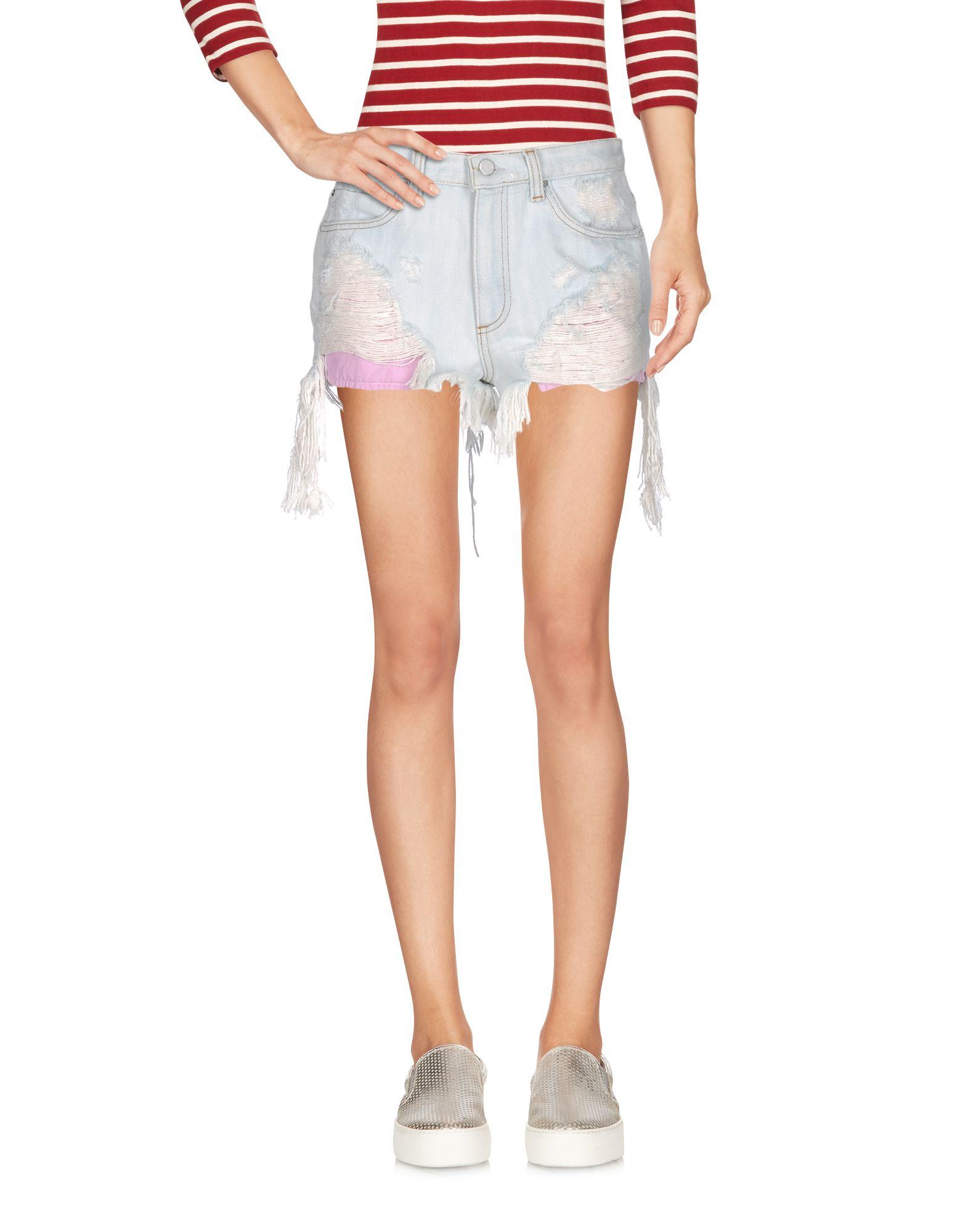 alexander wang female alexander wang denim shorts