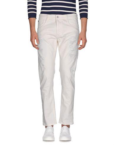 Джинсовые брюки UNIFORM. Цвет: слоновая кость