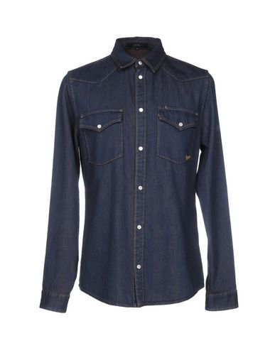 Джинсовая рубашка GUCCI 42558036IC