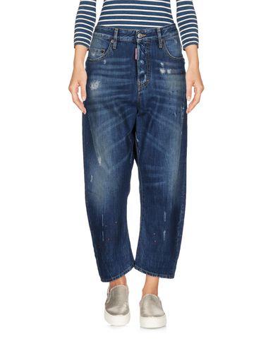 Джинсовые брюки-капри DSQUARED2 42558911GO