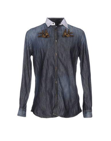 Джинсовая рубашка DSQUARED2 42559631VR