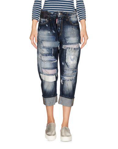 Джинсовые брюки-капри DSQUARED2 42559800RS