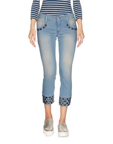 Джинсовые брюки-капри MET 42559836NT