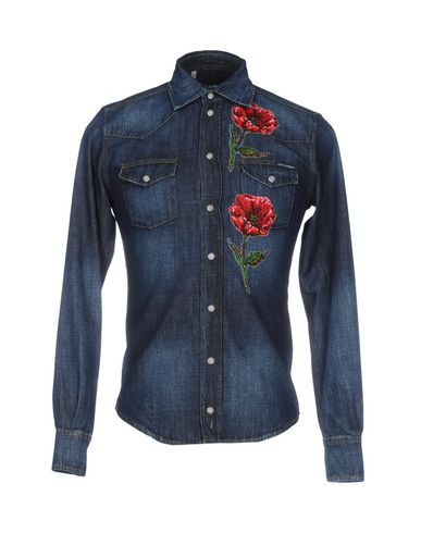 Джинсовая рубашка DOLCE & GABBANA 42560256WE