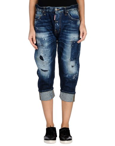 Джинсовые брюки-капри DSQUARED2 42560264KM