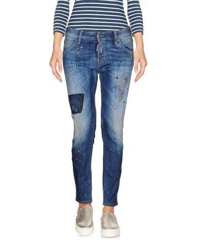 Джинсовые брюки-капри DSQUARED2 42560270KT