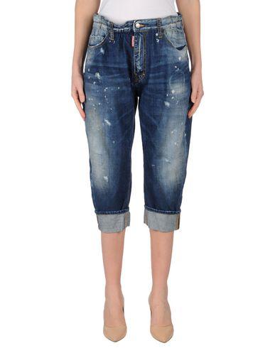 Джинсовые брюки-капри DSQUARED2 42560325HR