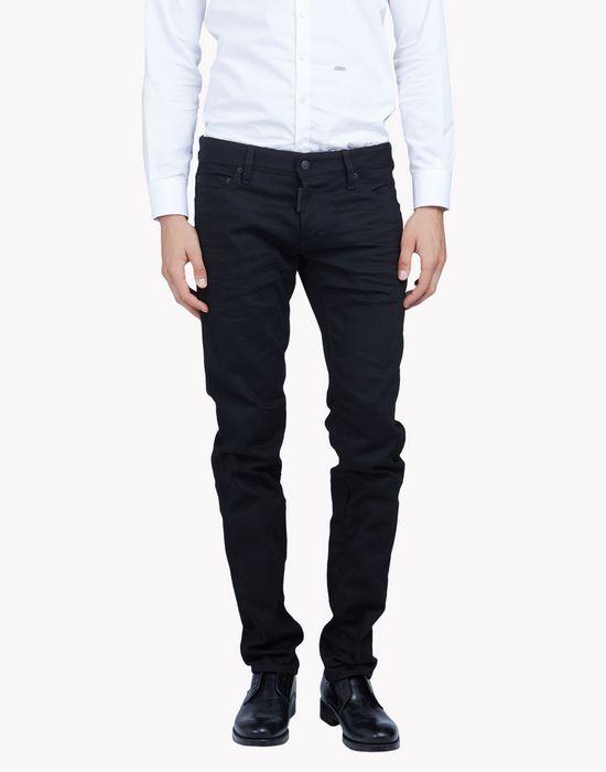 slim black wash jeans denim Man Dsquared2