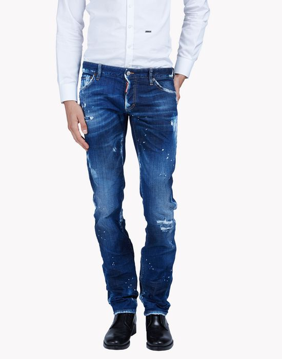 slim highlight jeans denim Man Dsquared2