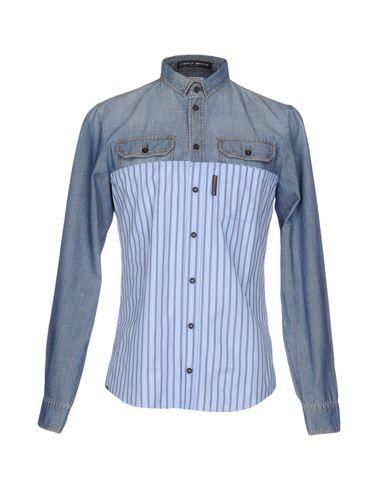 Джинсовая рубашка FRANKIE MORELLO 42561026VO