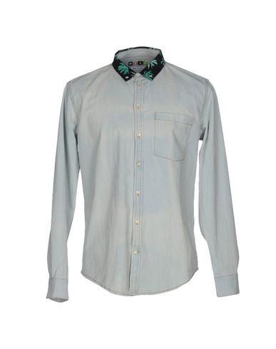 Джинсовая рубашка MSGM 42562615FL