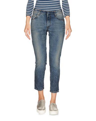 Джинсовые брюки-капри PIERRE BALMAIN 42563031AQ