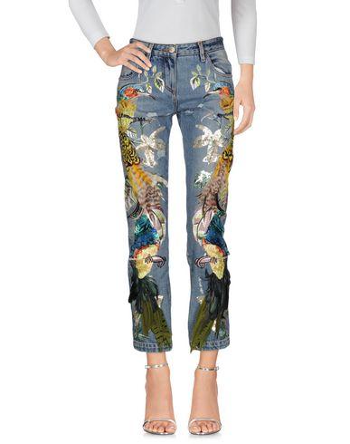 Джинсовые брюки ROBERTO CAVALLI 42563180CS