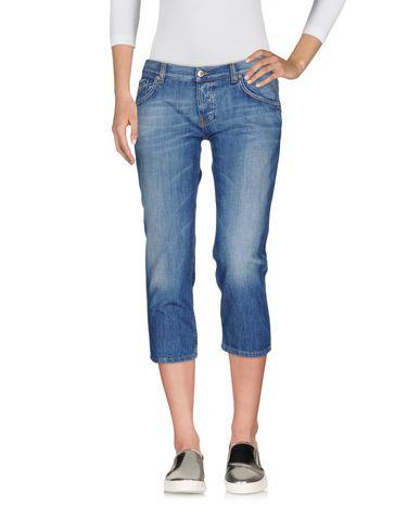 Джинсовые брюки-капри PRADA SPORT 42564863UI