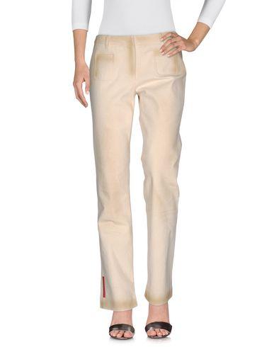 Джинсовые брюки PRADA SPORT 42565038EQ