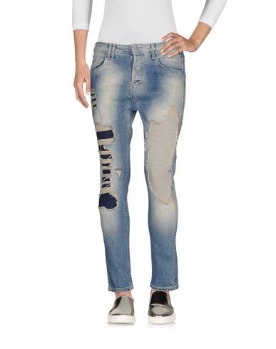 Джинсовые брюки-капри MET 42565434PP