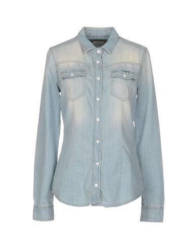 Джинсовая рубашка MET 42565475KQ