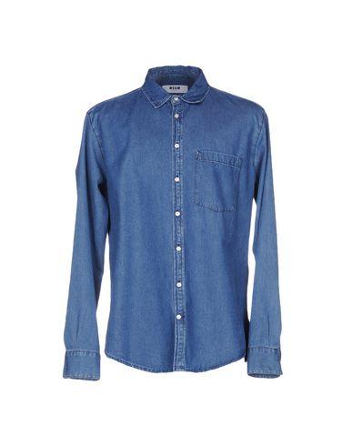 Джинсовая рубашка MSGM 42566907GP