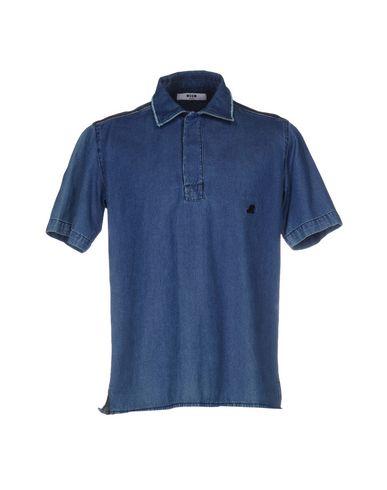 Джинсовая рубашка MSGM 42567028SJ