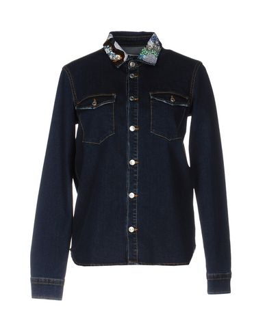 Джинсовая рубашка MSGM 42567238XQ