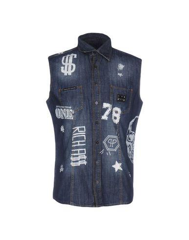 Джинсовая рубашка PHILIPP PLEIN HOMME 42567697BQ