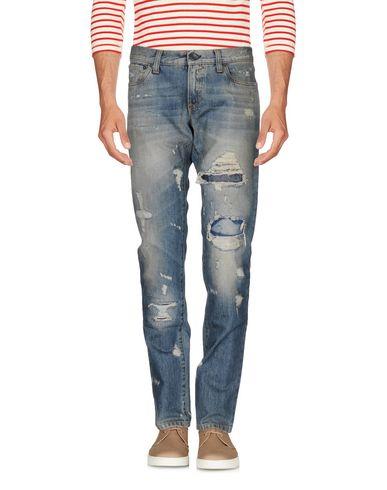 Джинсовые брюки DOLCE & GABBANA 42568143QH