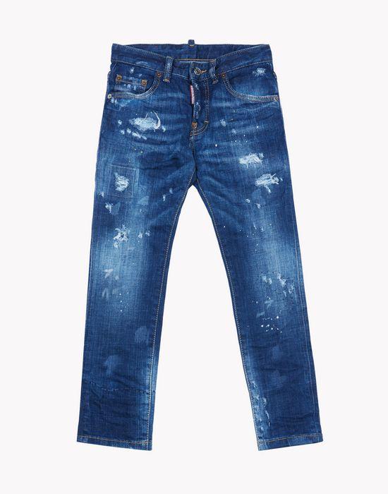 dark wash jeans moda vaquera Hombre Dsquared2