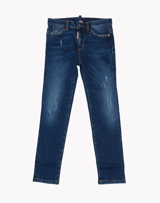 dark wash jeans denim Woman Dsquared2