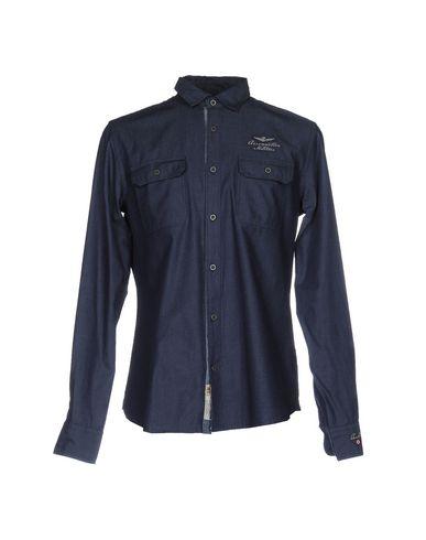 Джинсовая рубашка AERONAUTICA MILITARE 42568608BD