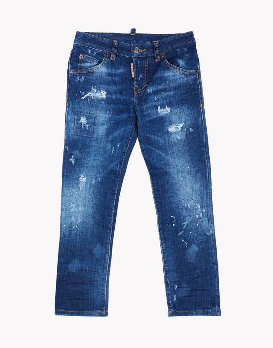 light wash jeans denim Woman Dsquared2