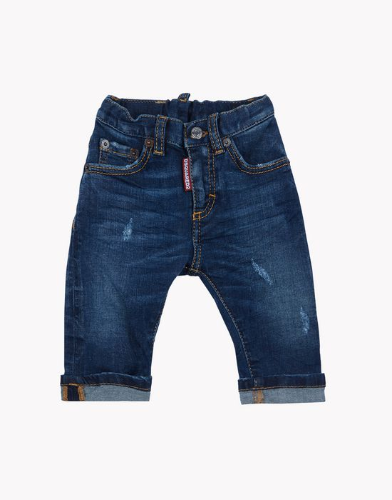cropped jeans denim Man Dsquared2