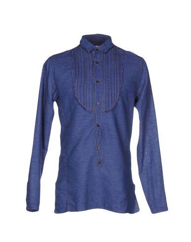 Джинсовая рубашка PAOLO PECORA 42570594KB