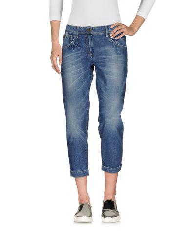 Джинсовые брюки-капри 19.70 NINETEEN SEVENTY 42571700OF