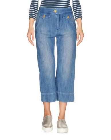 Джинсовые брюки-капри ISABEL MARANT TOILE 42572481FM