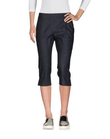 Джинсовые брюки-капри DONNA KARAN 42573468IW