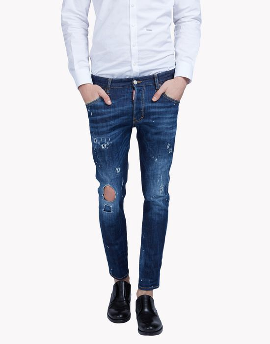 dark wash jeans denim Man Dsquared2