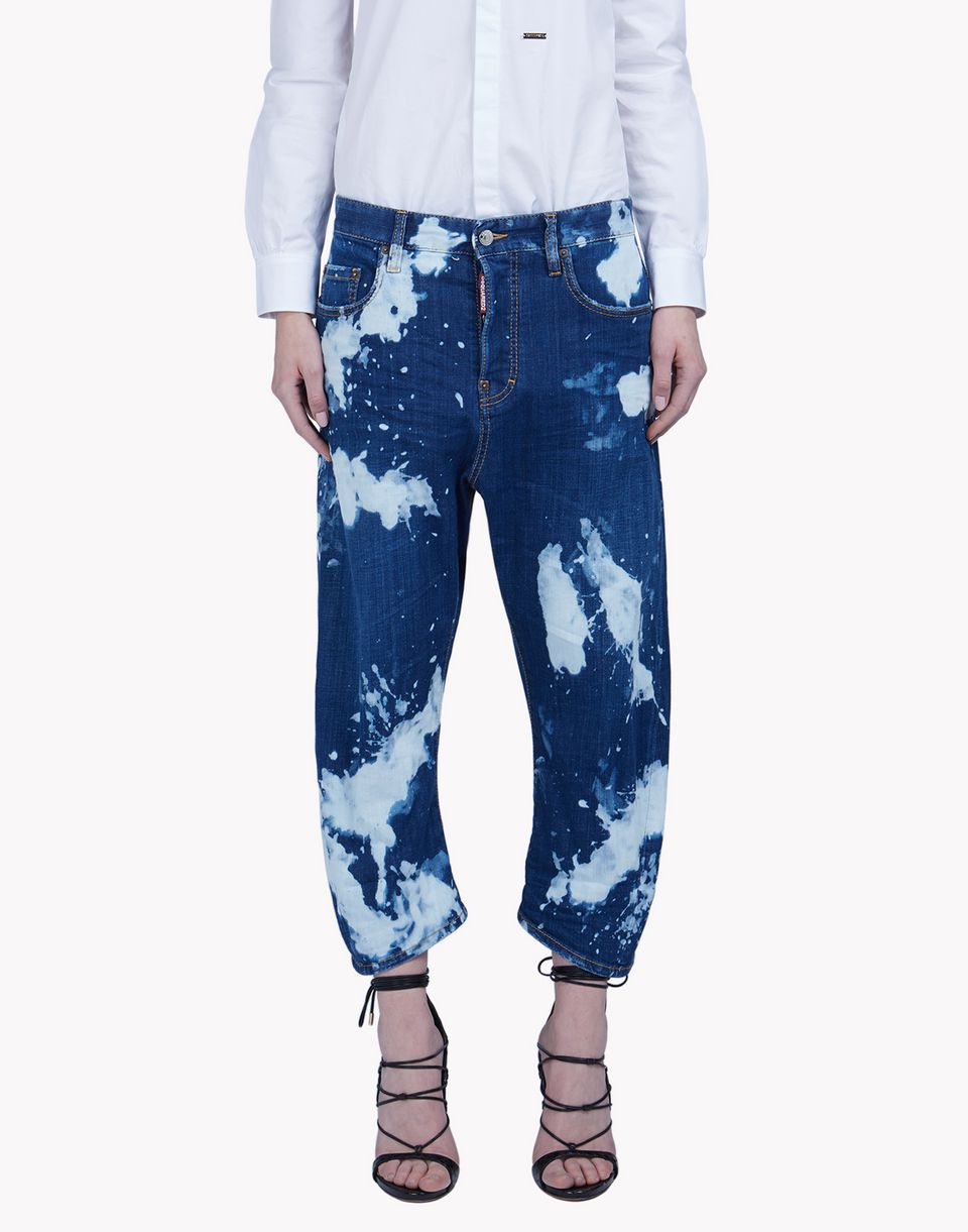 kawaii jeans denim Woman Dsquared2