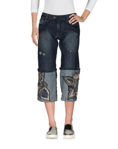 Джинсовые брюки-капри KENZO DEFIL 42574666XH