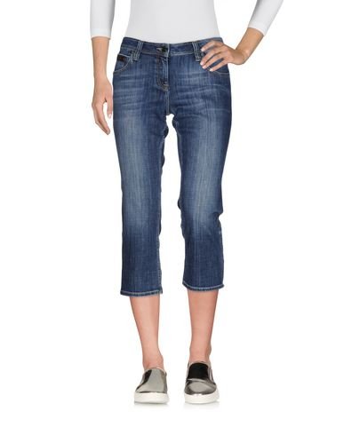 Джинсовые брюки-капри BURBERRY 42574870VX