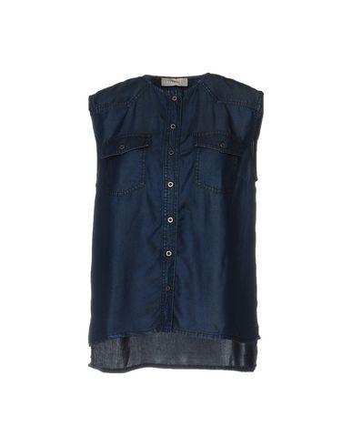 Джинсовая рубашка STEFANEL 42574920QX
