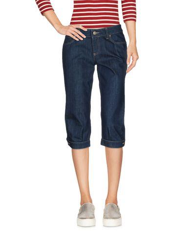 Джинсовые брюки-капри GUCCI 42577074SM