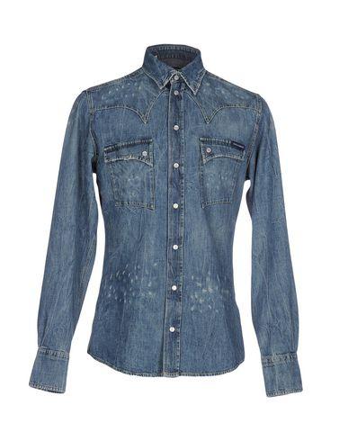 Джинсовая рубашка DOLCE & GABBANA 42577484JG