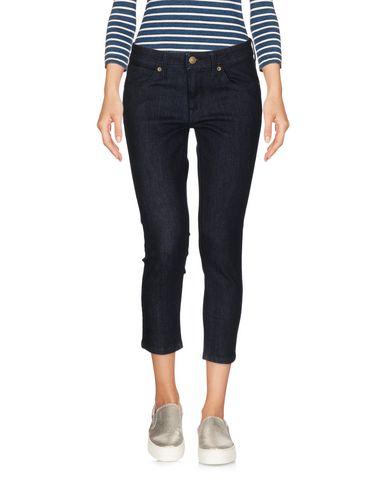 Джинсовые брюки-капри BURBERRY 42578387LR