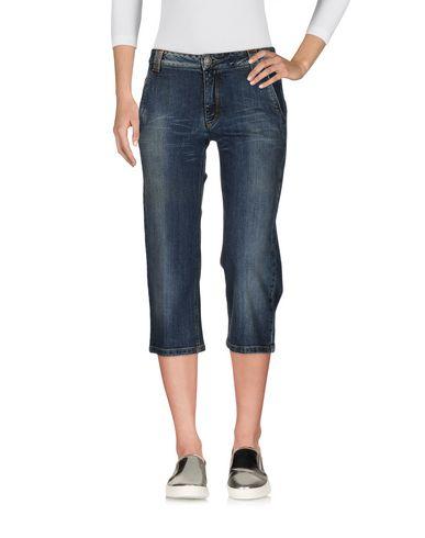 Джинсовые брюки-капри JEANS LES COPAINS 42578617XC