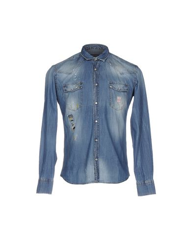 Джинсовая рубашка TAKESHY KUROSAWA 42581323CA