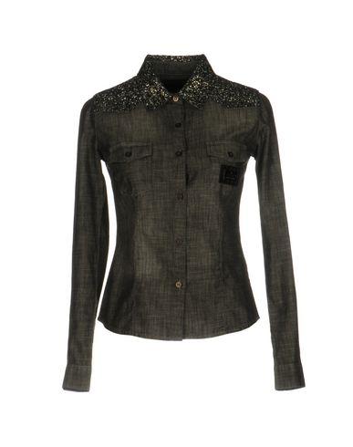 Джинсовая рубашка PHILIPP PLEIN 42582694FH