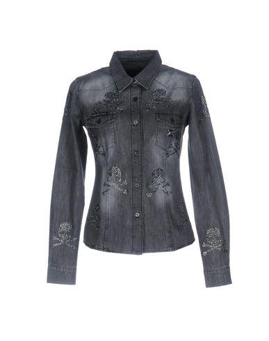 Джинсовая рубашка PHILIPP PLEIN 42582890AW