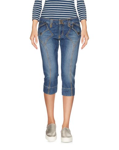 Джинсовые брюки-капри JUST CAVALLI 42583663PT