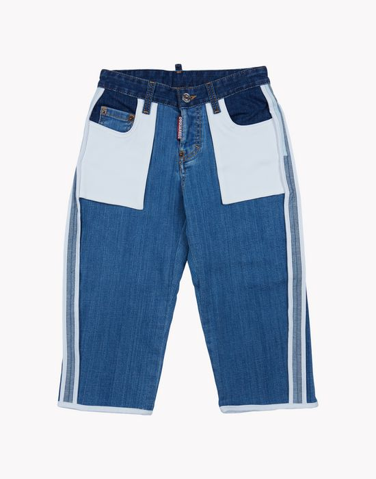patchwork jeans moda vaquera Mujer Dsquared2