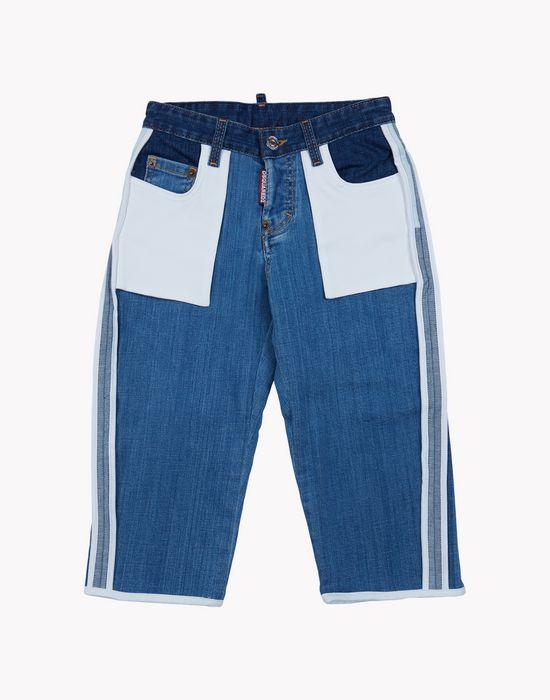 patchwork jeans denim Woman Dsquared2